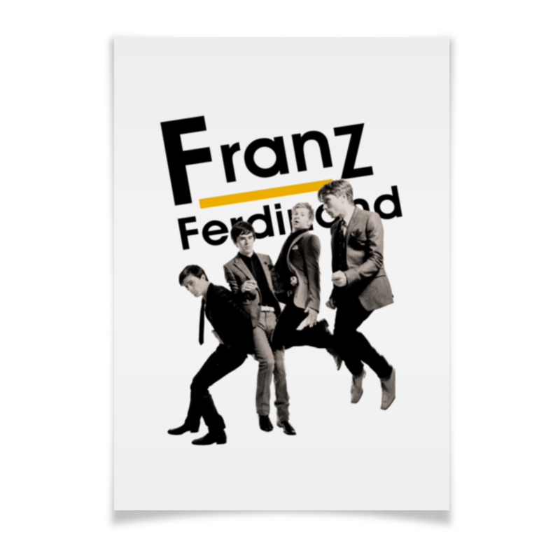 Плакат A3(29.7x42) Printio Franz ferdinand плакат a3 29 7x42 printio franz ferdinand