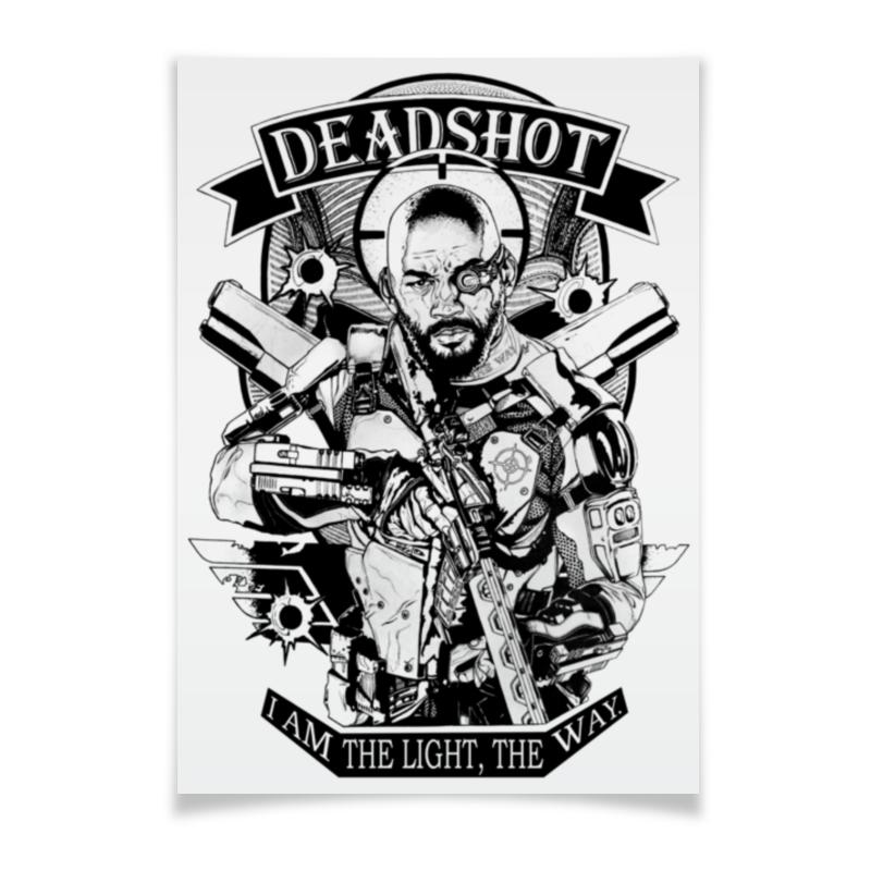 Плакат A3(29.7x42) Printio Deadshot deadshot bulletproof
