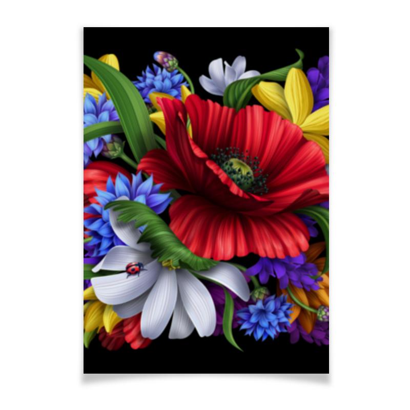 Плакат A3(29.7x42) Printio Композиция цветов свадебная композиция