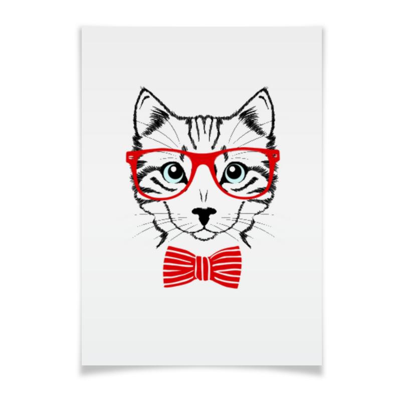 Плакат A3(29.7x42) Printio Кошка андрей дашков домашнее животное