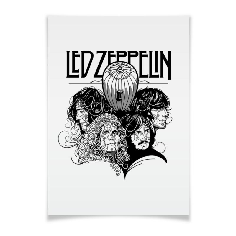 Плакат A3(29.7x42) Printio Led zeppelin виниловая пластинка led zeppelin led zeppelin 3lp