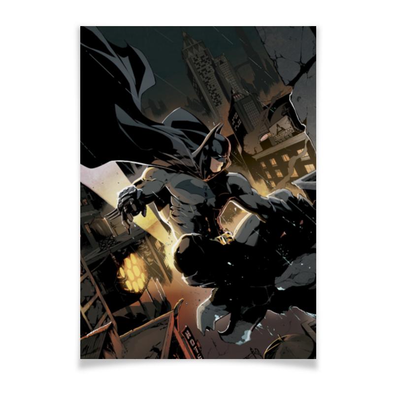 Плакат A3(29.7x42) Printio Бэтмен плакат a3 29 7x42 printio basketball