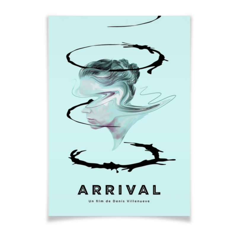 Плакат A3(29.7x42) Printio Прибытие / arrival