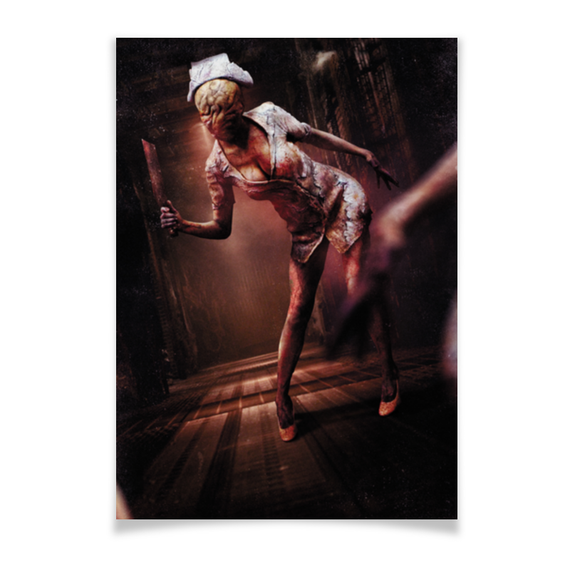 Плакат A3(29.7x42) Printio Сайлент хилл плакат a3 29 7x42 printio bloodborne