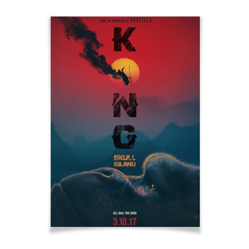 Плакат A3(29.7x42) Printio Конг: остров черепа / kong: skull island