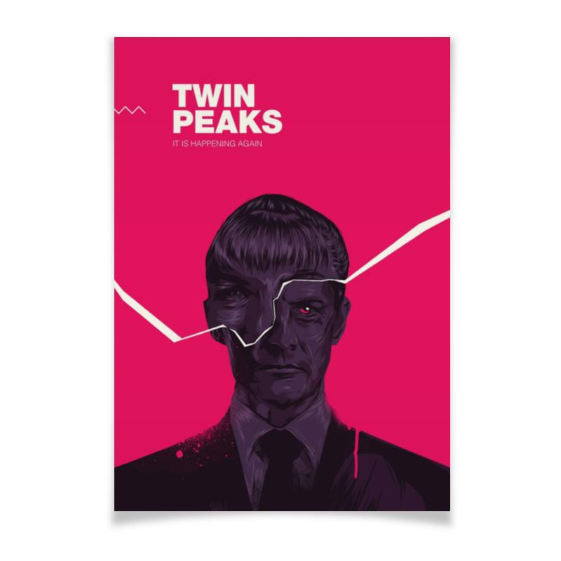 Плакат A3(29.7x42) Printio Твин пикс / twin peaks майка борцовка print bar damn good twin peaks