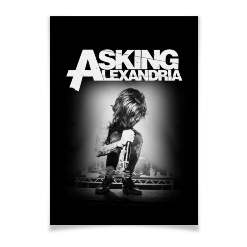 Плакат A3(29.7x42) Printio Asking alexandria плакат a3 29 7x42 printio bloodborne