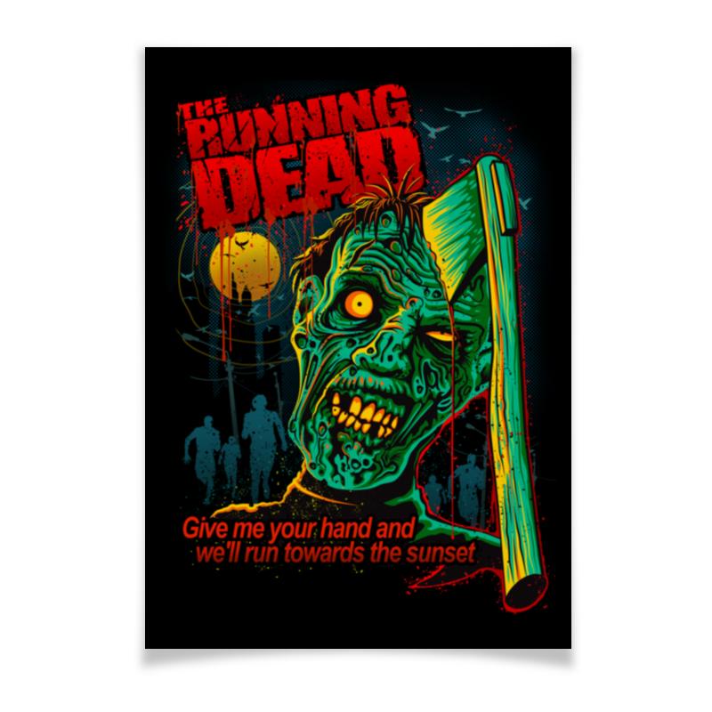 Плакат A3(29.7x42) Printio Зомби плакат a3 29 7x42 printio bloodborne