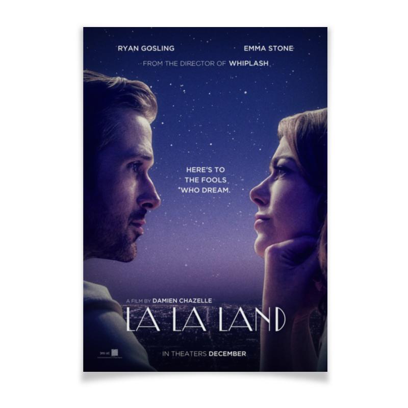 Плакат A3(29.7x42) Printio Ла-ла ленд / la la land la la land in concert stockholm