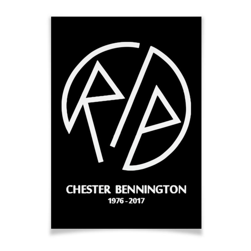 Плакат A3(29.7x42) Printio Rip chester