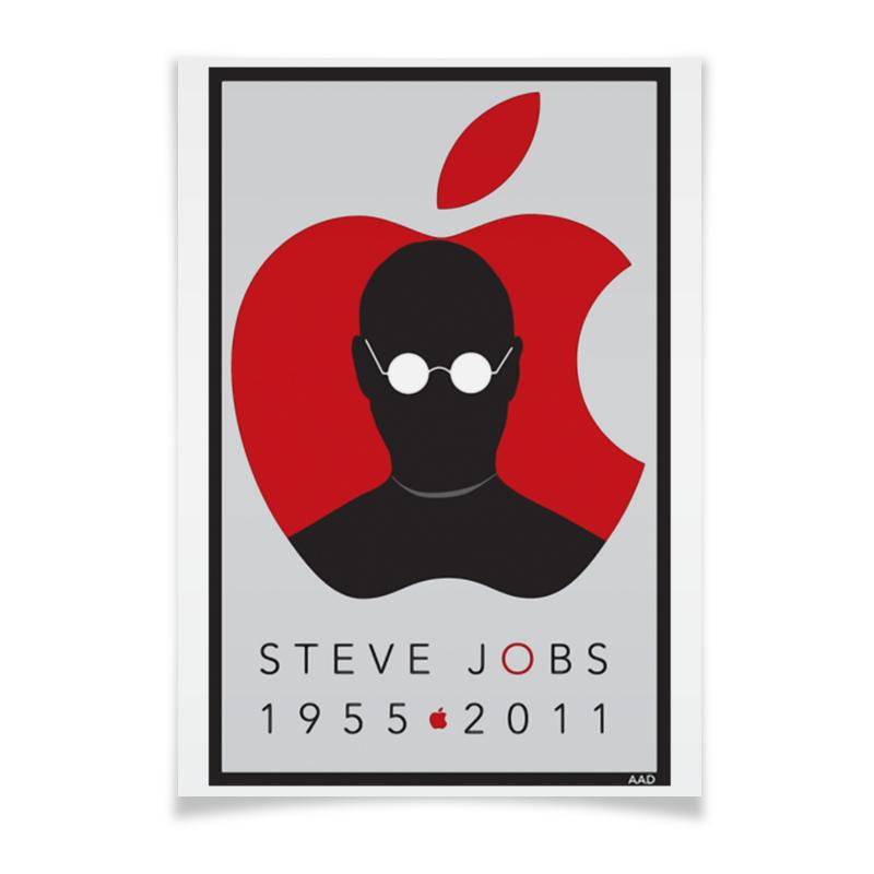 Плакат A3(29.7x42) Printio Steve jobs чехол для iphone 4 глянцевый с полной запечаткой printio steve jobs