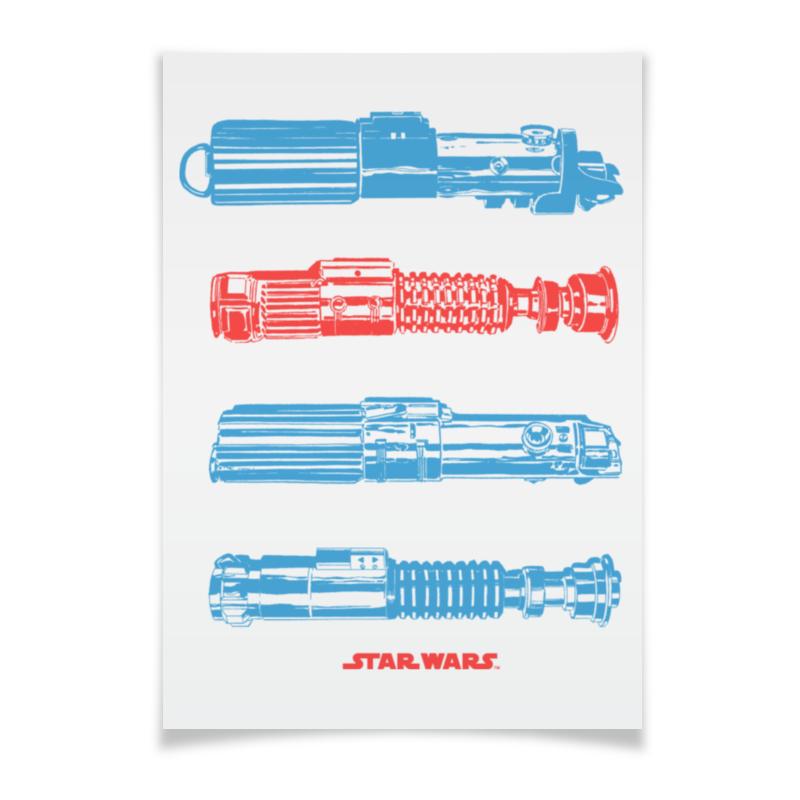 Плакат A3(29.7x42) Printio Световые мечи мечи для тамесигири в москве