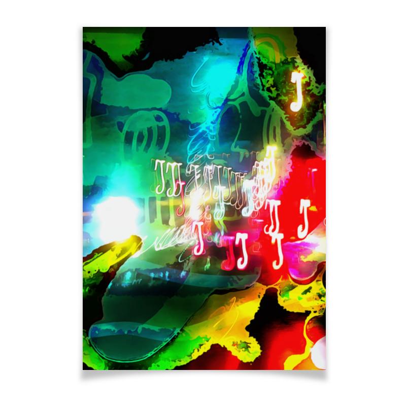 Плакат A3(29.7x42) Printio Abstract raster 160 леггинсы printio abstract raster 160