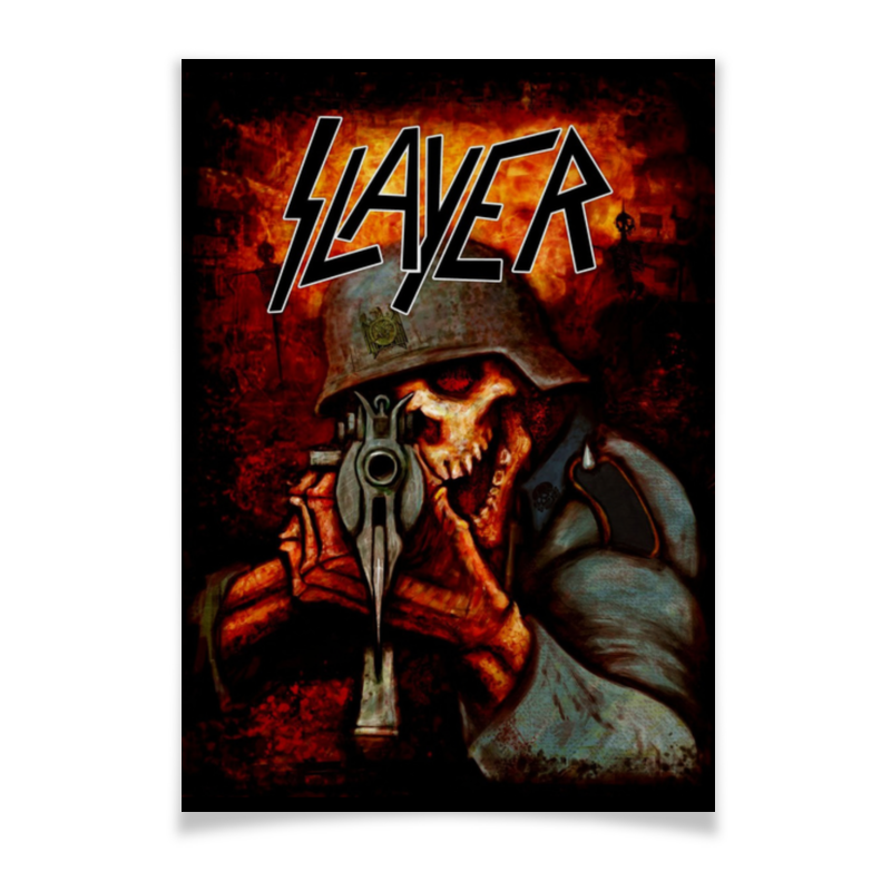 цена на Плакат A3(29.7x42) Printio Slayer band