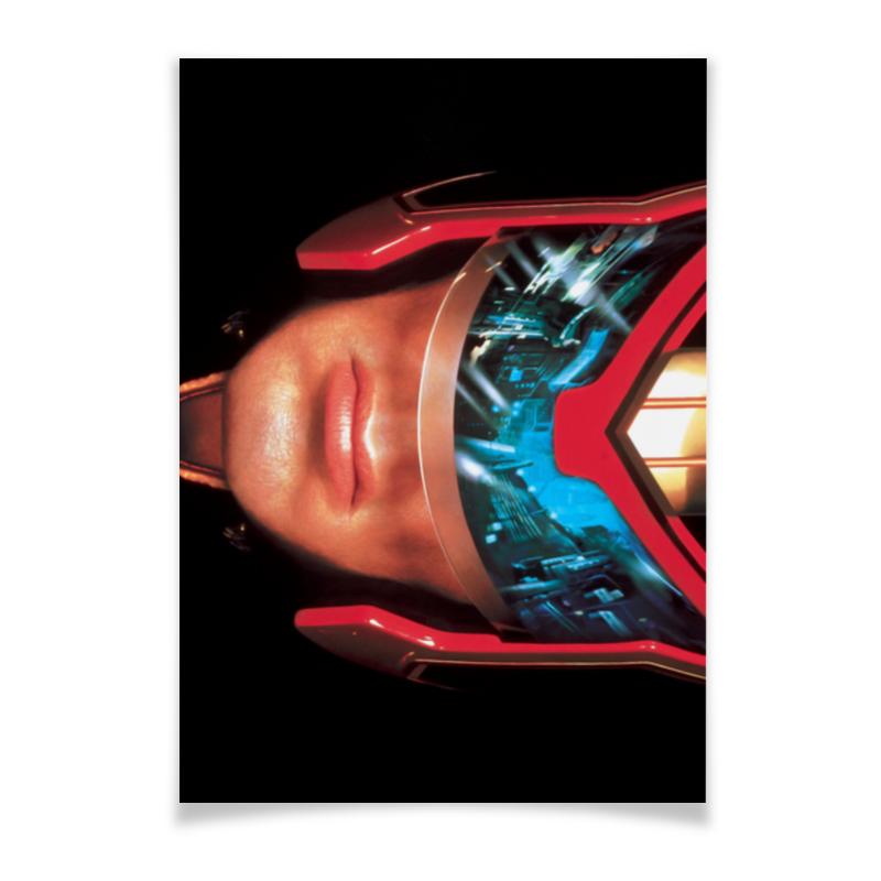 Плакат A3(29.7x42) Printio Judge dredd / судья дредд