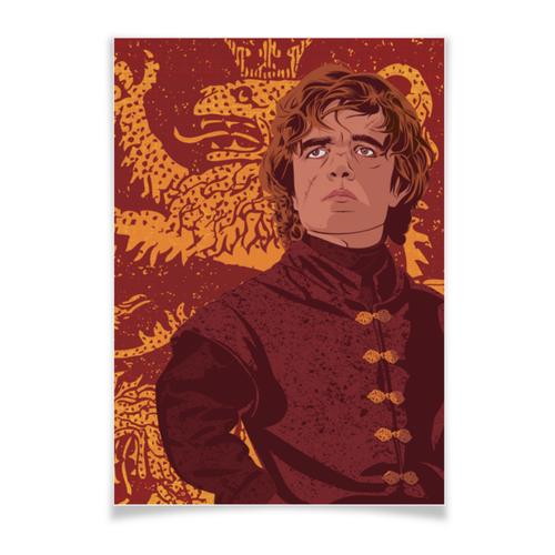 """Плакат A3(29.7x42) """"Игра Престолов: Тирион Ланнистер"""" - игра престолов, фэн-арт, game of thrones, тирион ланнистер, tyrion lannister"""