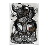 """Плакат A3(29.7x42) """"Великий Один"""" - один, мифы, бог, викинги, путь воина"""