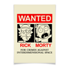 "Плакат A3(29.7x42) ""Рик и Морти"" - мультфильмы, wanted, rick and morty, рик и морти"