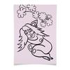 """Плакат A3(29.7x42) """"Дремлющая троллита"""" - девушка, тролль, дерево, сладкий сон, нега"""