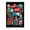 "Плакат A3(29.7x42) ""Рик и Морти"" - мульт, rick and morty, рик и морти, арт, прикольные"