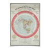 """Плакат A3(29.7x42) """"Карта Плоской Земли"""" - плоская земля, flat earth, карта плоской земли, flat earth map"""