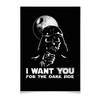 "Плакат A3(29.7x42) ""Дарт Вейдер"" - star wars, dark side, darth vader, звездные войны, дарт вейдер"