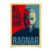 "Плакат A3(29.7x42) ""Викинги. Рагнар."" - викинги, vikings, путь воина, рагнар, ragnar"