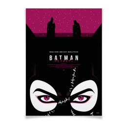 """Плакат A3(29.7x42) """"Бэтмен: Начало / Batman Begins"""" - batman, кино, бэтмен, женщина-кошка, catwoman"""