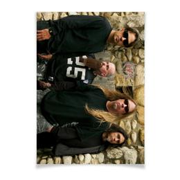 "Плакат A3(29.7x42) ""Slayer 2012"" - музыка, рок, металл, slayer, thrash metal"