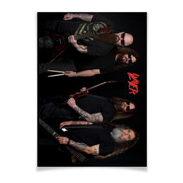 "Плакат A3(29.7x42) ""Slayer 2016"" - музыка, рок, металл, slayer, thrash metal"
