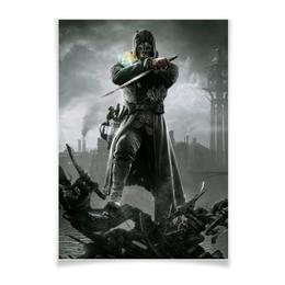 """Плакат A3(29.7x42) """"Dishonored """" - игры, dishonored"""