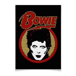"""Плакат A3(29.7x42) """"Дэвид Боуи"""" - музыка, арт, дэвид боуи, david bowie, bowie"""