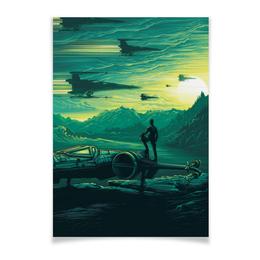 """Плакат A3(29.7x42) """"Star Wars"""" - космос, star wars, звездные воины, темная сторона"""