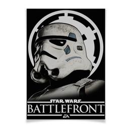 """Плакат A3(29.7x42) """"Battlefront"""" - звездные войны, star wars, battlefront, штурмовик"""