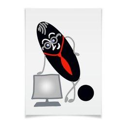 """Плакат A3(29.7x42) """"Как хорошо уметь читать"""" - арт, знания, чтение, как хорошо уметь читать, знаки препинания"""