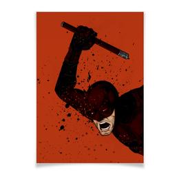 "Плакат A3(29.7x42) ""Сорвиголова (Daredevil)"" - комиксы, марвел, дардевил, daredevil"