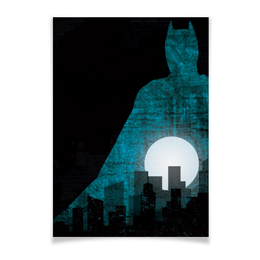 "Плакат A3(29.7x42) ""Бэтмен"" - комиксы, batman, бэтмен, dc comics, готэм"