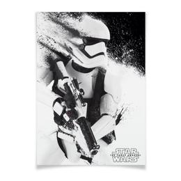"Плакат A3(29.7x42) ""Штурмовик"" - стар варс, звездные войны, stormtrooper, star wars"