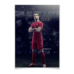 "Плакат A3(29.7x42) ""Ronaldo"" - футбол, real madrid, реал мадрид, криштиану роналду, португалия"