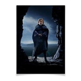 "Плакат A3(29.7x42) ""Звездные войны - Люк Скайуокер"" - фантастика, звездные войны, дарт вейдер, кино, star wars"