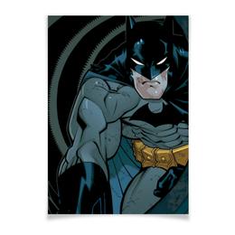 "Плакат A3(29.7x42) ""Бэтмен"" - комиксы, batman, бэтмен, dc, dc comics"