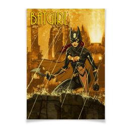 "Плакат A3(29.7x42) ""Batgirl"" - арт, рисунок, комиксы, бэтмен, бэтгерл"