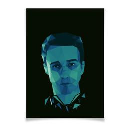 "Плакат A3(29.7x42) ""Бойцовский клуб"" - бойцовский клуб, эдвард нортон, fight club, чак паланик"