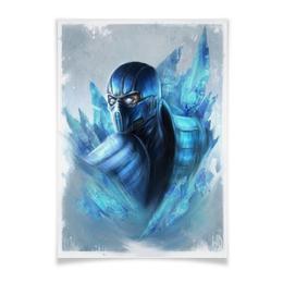 """Плакат A3(29.7x42) """"Mortal Kombat X"""" - mortal kombat, mk, sub-zero, саб-зиро"""