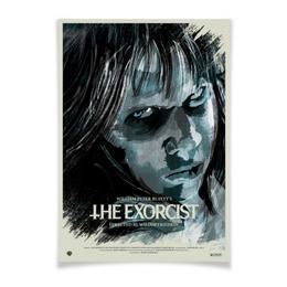 """Плакат A3(29.7x42) """"Изгоняющий дьявола / The Exorcist"""" - exorcist, изгоняющий дьявола, ужас, ужасы, постер"""