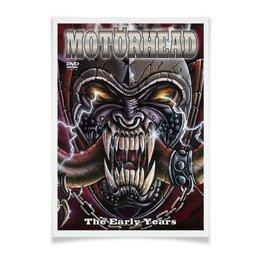 "Плакат A3(29.7x42) ""МУЗЫКА. MOTORHEAD"" - арт, монстр, маска, рок-группа, рокер"