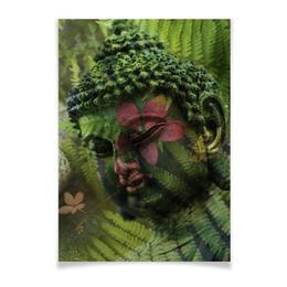 "Плакат A3(29.7x42) ""Будда "" - природа, buddha, будда, буддизм, духовность"