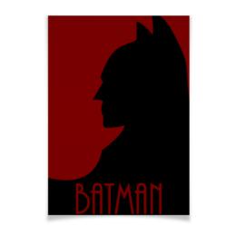 "Плакат A3(29.7x42) ""Бэтмен"" - комиксы, batman, dc, dc comics"