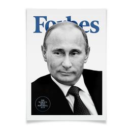 """Плакат A3(29.7x42) """"Forbes"""" - forbes, форбс, путин, ввп"""