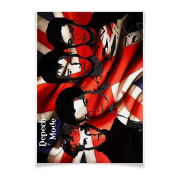 "Плакат A3(29.7x42) ""Depeche Mode"" - арт, depeche mode, депеш мод, электронная музыка, музыкальная группа"